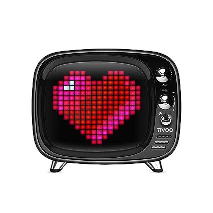 Amazon com: Divoom Tivoo Retro Bluetooth Speaker - Pixel Art DIY Box