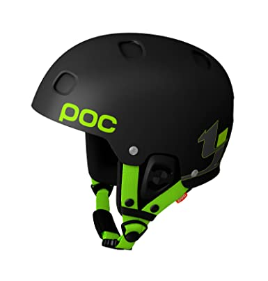 POC Receptor Bug TJ Schiller Edition casco esquí, color negro, tamaño X Large /