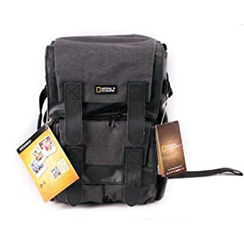 7e4641b14aa National Geographic NG W5071 Walkabout Medium Rucksack for DSLR Style with  15.4-Inch Laptop Personal Gear (Gray)  Amazon.ca  Camera   Photo