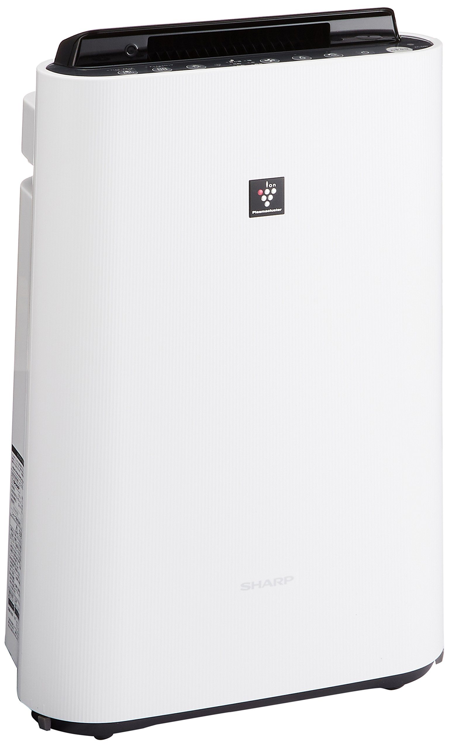 シャープ 加湿 空気清浄機 プラズマクラスター 13畳 / 空気清浄 23畳 ホワイト KC-G50-W