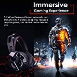 Combatwing Gaming Headset - PS4 Headset 7.1