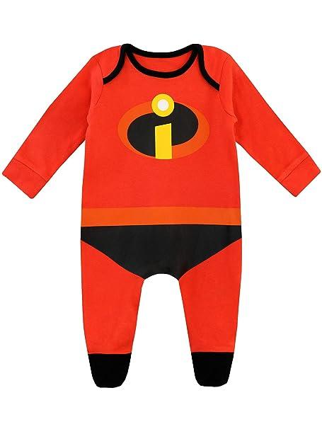 9fc1308d6 Disney Pijama Entera para Niños Bebés The Incredibles: Amazon.es: Ropa y  accesorios