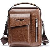 Man Purse Crossbody Leather, Mens Shoulder Bag Leather Messenger Bag For Men