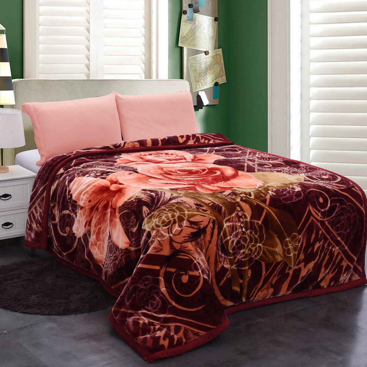 Amazoncom Jml Heavy Warm Blanket Plush Blankets