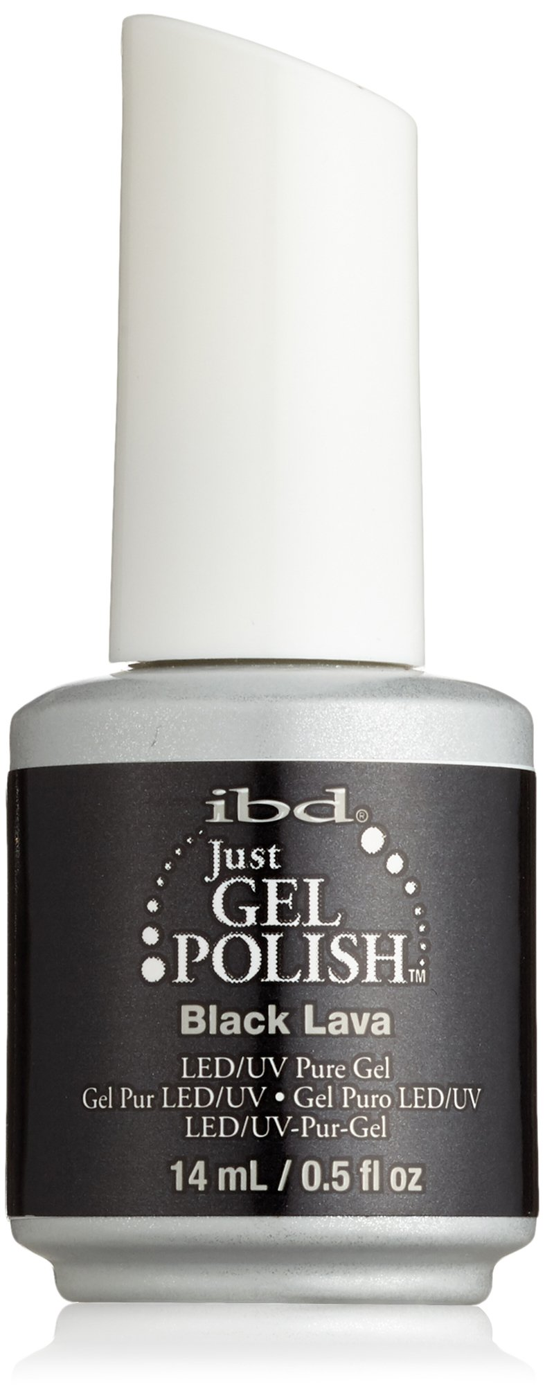 Home ibd just gel polish ibd just gel polish abracadabra - Ibd Just Gel Nail Polish Black Lava 0 5 Fluid Ounce