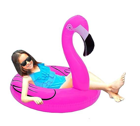 Amazon.com: Oima Flotador de piscina de flamenco rosa ...