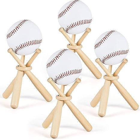 "18/""Baseball Bat Heavy Duty Wooden Baseball Solid Construction Rounders Fun Play"