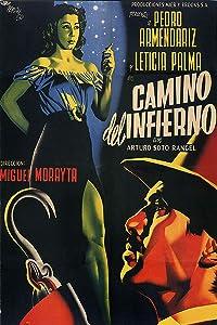 - Camino del Infierno Vintage Mexican Cinema Movie Poster - 24x36