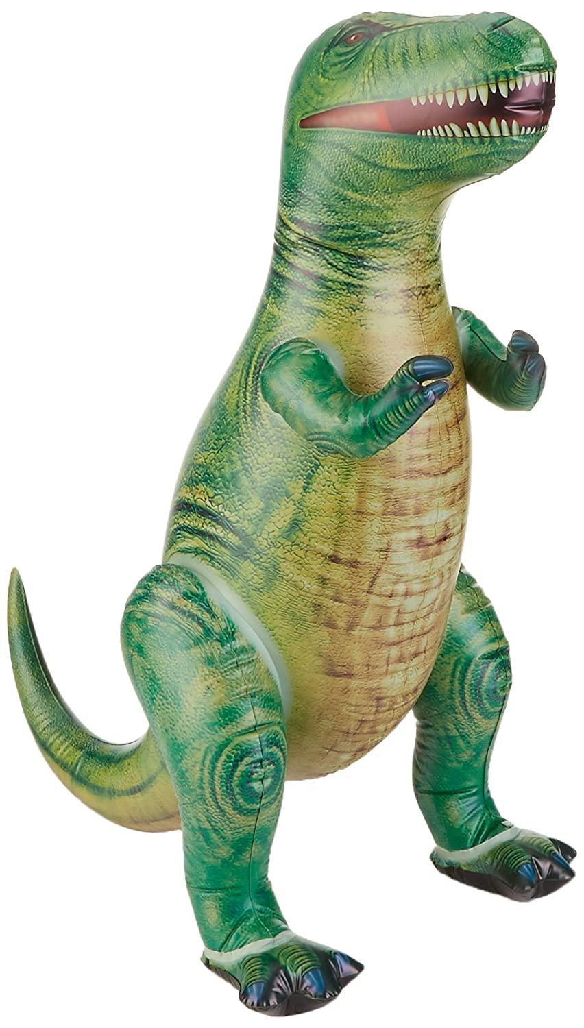 Jet Creations T-Rex Dinosaur Tyrannosaurus Inflatable 37 inch for pool party decoration birthday gift kids and adults DI-TYR3