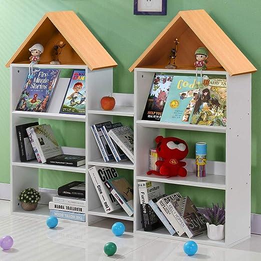 Tribesigns Estantería para niños, estantería Grande para Libros y Libros para niños, para Sala de Juegos, Sala de Estudio o Aula.: Amazon.es: Juguetes y juegos