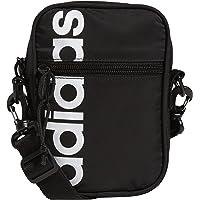 adidas Originals unisex-adult adidas Core Festival Crossbody Bag, Black/White, Black/ White , One Size