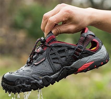 LUCKY-U Hiking Shoes, Men Water Shoes