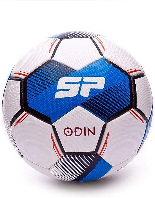 SP Fútbol Odin, Balón, Blanco-Azul, Talla 5: Amazon.es: Deportes y ...