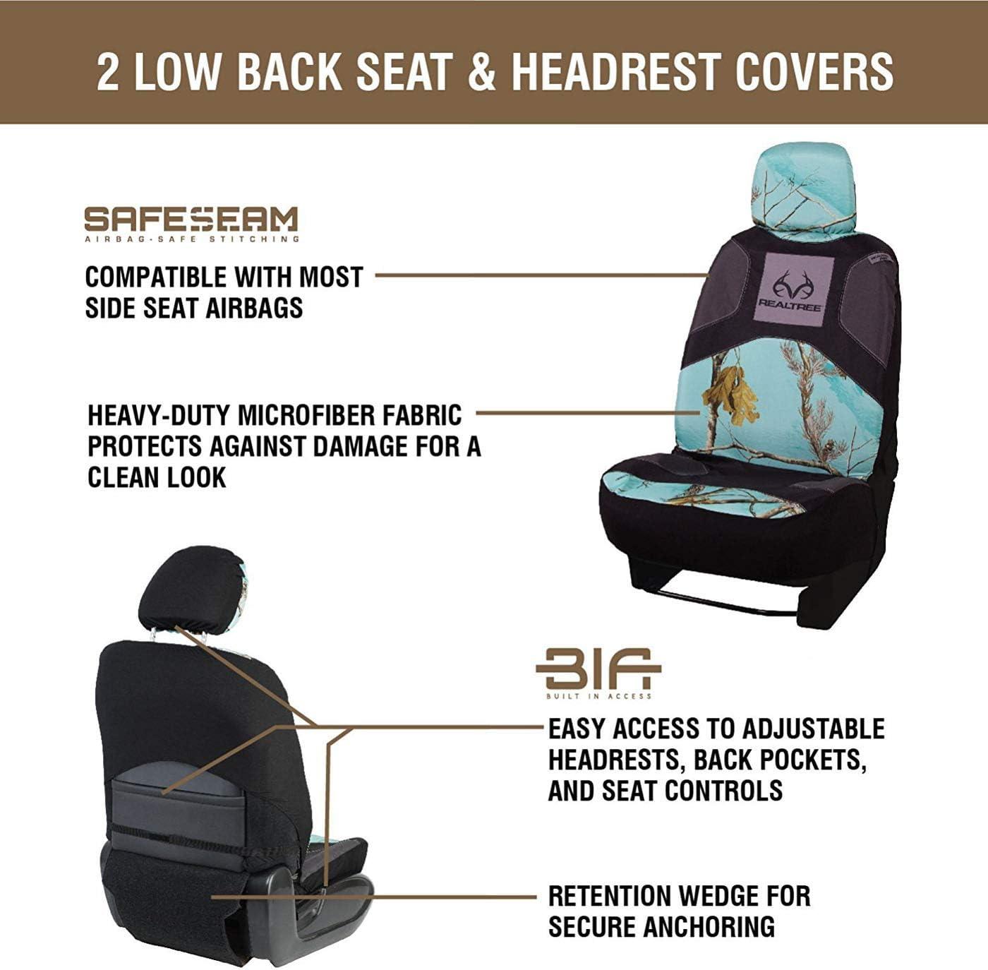 Realtree Camo Seat Covers