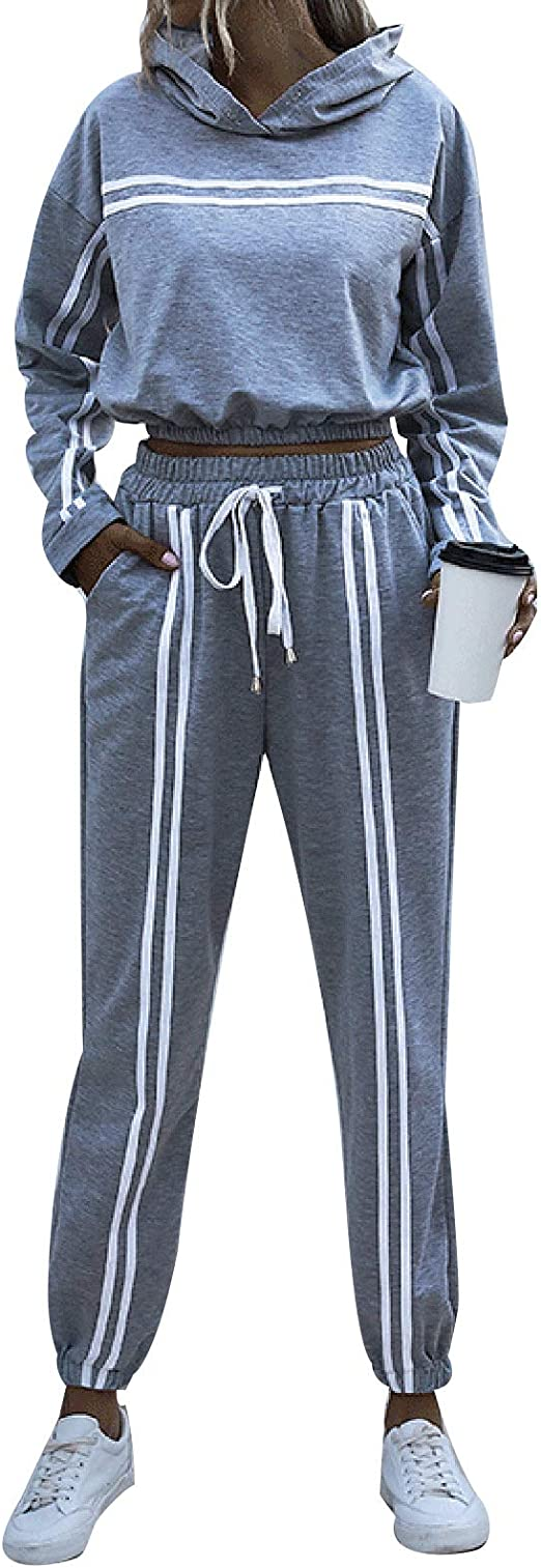 Damen Jogginganzug Trainingsanzug Hausanzug Sweatshirt Hosen Fitness Sportanzug