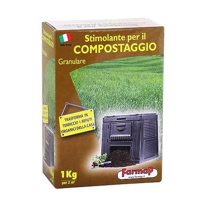 ESTIMULANTE INOLORO PARA COMPOST COMPOSTAJE BASURA Y ABSORBE OLORES 2,2 KG