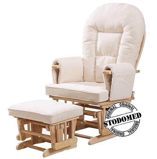Stodomed Glider Relax sillón + Taburete con balancín Función ...