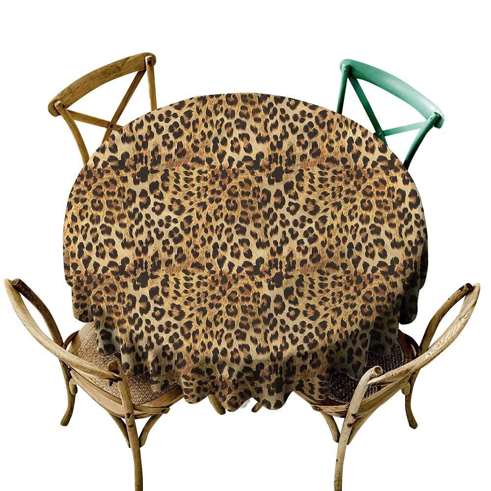 LsWOW ピクニックラウンドテーブルクロス 男の子用 遊び心のある猫 グレーの足 結婚式などに最適 54 Inch 54 Inch カラー08 B07Q7N3RB5