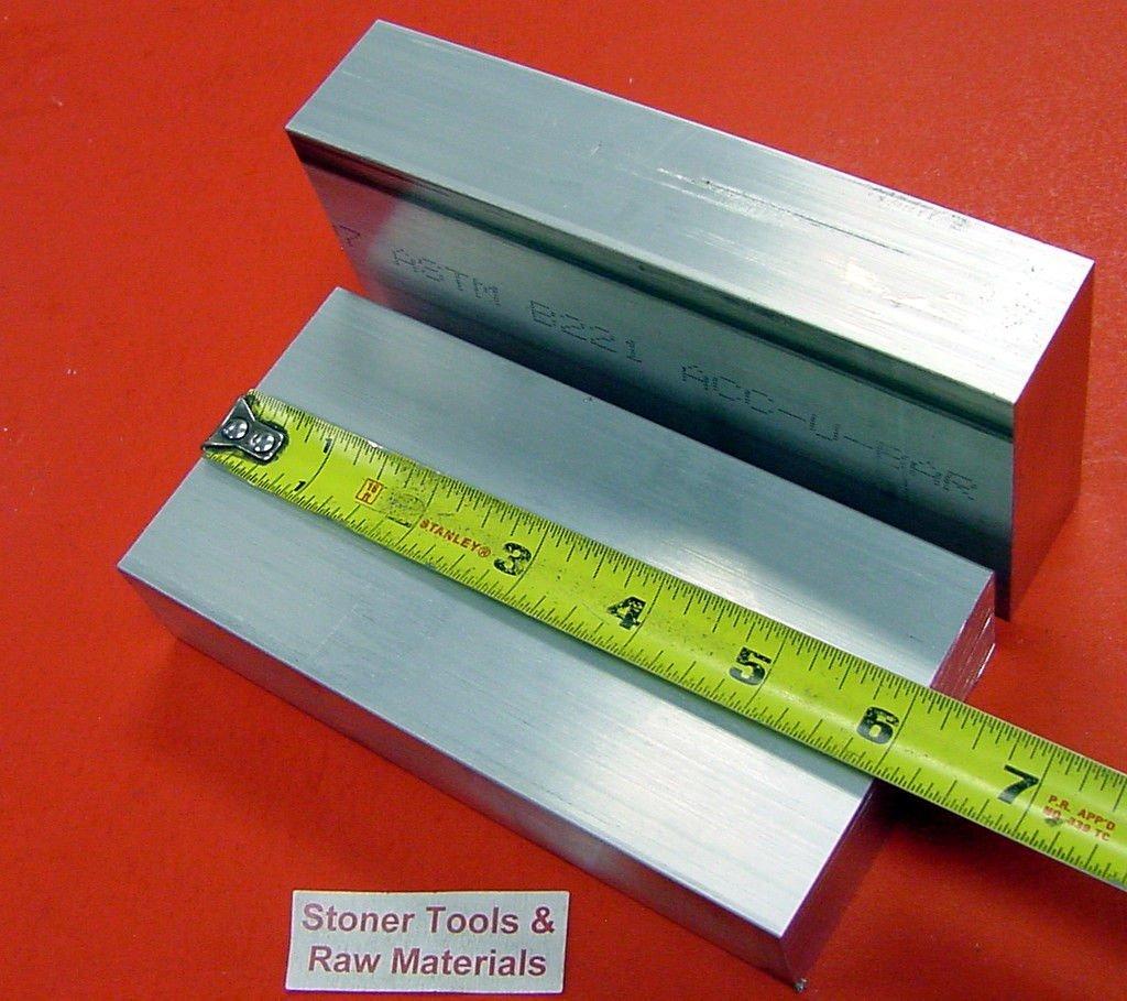 "1//4/"" X 5/"" ALUMINUM 6061 FLAT BAR 12/"" long T6511 Solid .250/"" New Mill Stock"