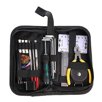 Kit de herramientas de limpieza para reparación de instrumentos de Broadroot para guitarra, bajo, piezas: Amazon.es: Instrumentos musicales