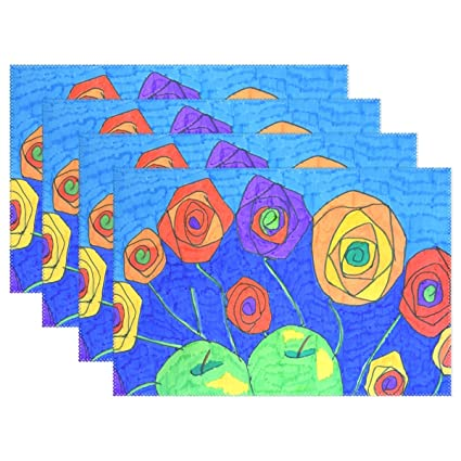 Amazon Com Dnoving Abstract Art Colourful Paper Felt Pens