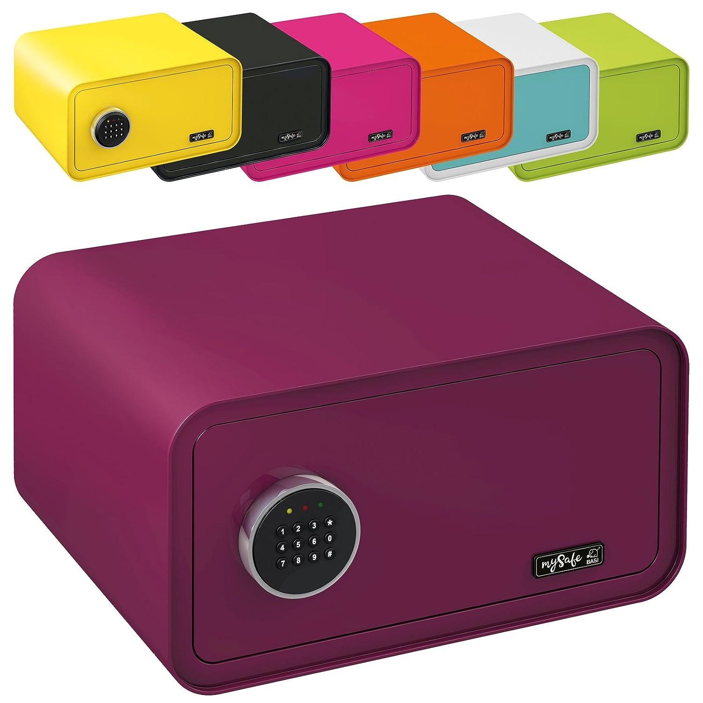 Numero codice lucchetto diversi colori verde AxLxP viola MySafeDisplay cassaforte Design Safe 230/X 430/X 350/mm blu//bianco rosa
