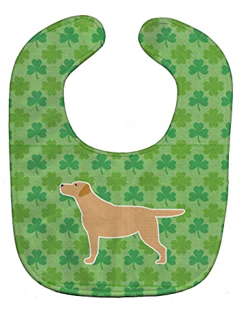 Carolines Treasures Pawprints Baby Bib Australian Shepherd Dog Large