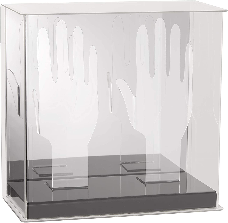 Mirrored Display- Autograph Display Softball Baseball Franklin Sports Official Batting Glove Display Case Plexiglass
