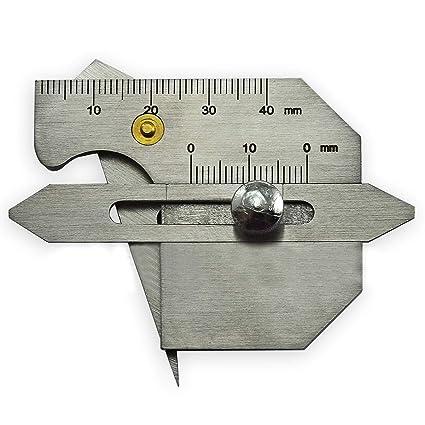 la soldadura de soldadura de calibre ser la altura AD soldadura de costura brecha métrica Gage