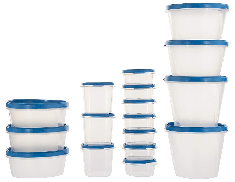 SimpArte Plastic Grocery Container, 17 Pieces