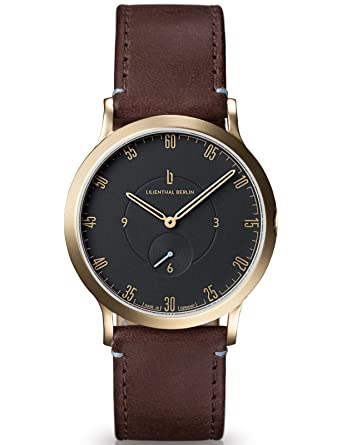 Lilienthal Berlin Watch - Made in Germany - Designed in Berlin. Model L1 with Stainless