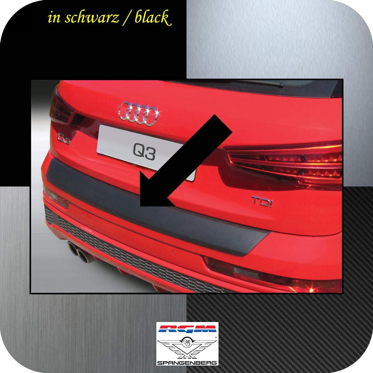 Protector de Borde de Carga RGM Original Negro para Audi Q3 Compacto Tipo 8U SUV A/ño de construcci/ón 06.2011 Richard Grant Mouldings Ltd 08.2018 tambi/én Modelos RS RBP762