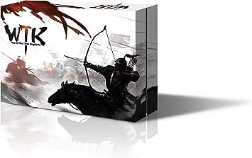 YOKA GAMES - Sanguosha WTK Kingdom Wars Guerra de Los Tres Reinos Juego de Mesa Estratégica Cooperativa para Fiesta Juego de Cartas Hero China Oriental Divertido(Versión Guerras de los Reinos Inglés): Amazon.es:
