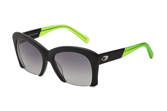 MORMAII Gafas de sol M0012 Tainah Juanuk, negro mate y verde  Amazon.es   Ropa y accesorios ec9b56983b
