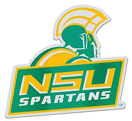 new concept ed64d 0e546 Amazon.com : Norfolk State Spartans Auto Badge Decal, Hard ...
