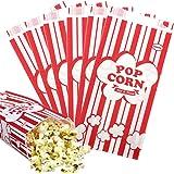 Tomnk 100pcs Paper Popcorn Bags, 1oz