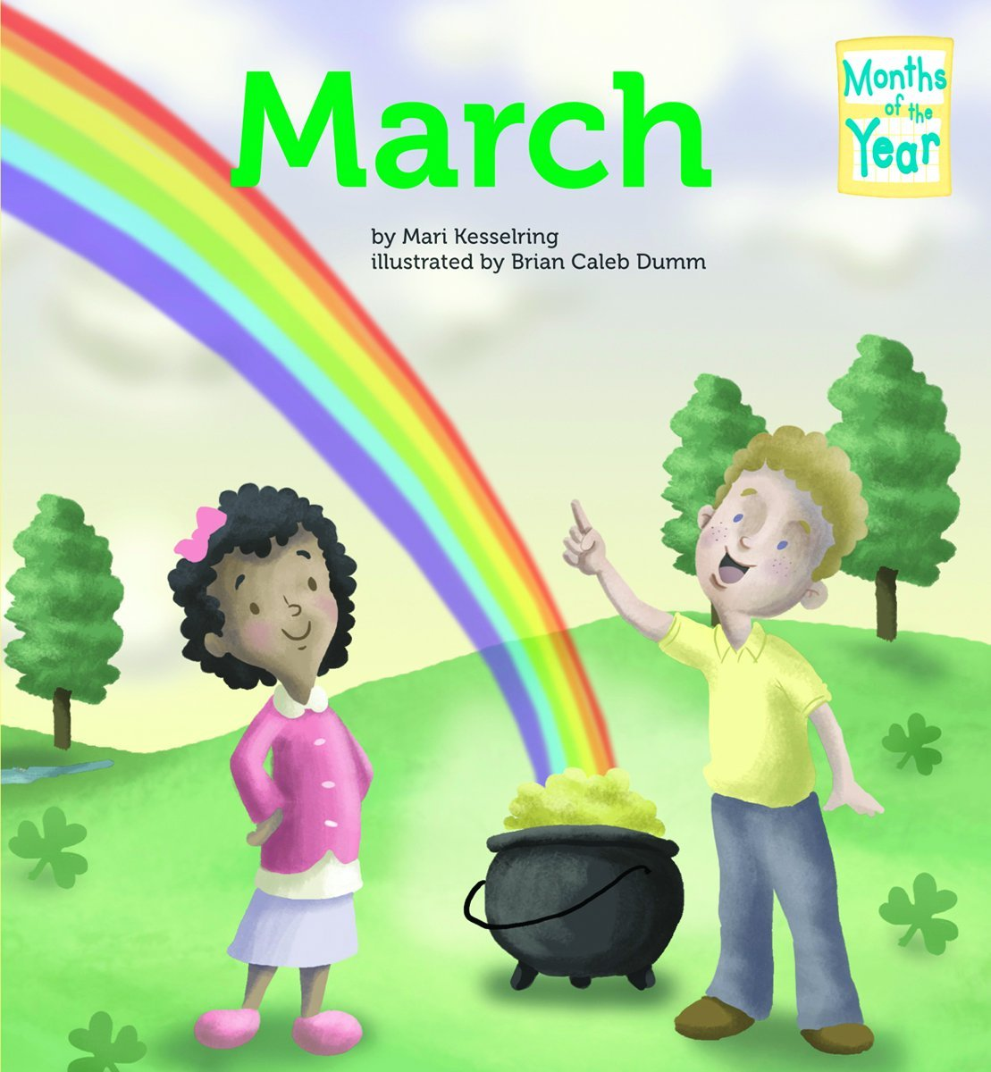 Read Online March (Months of the Year (Magic Wagon)) ebook
