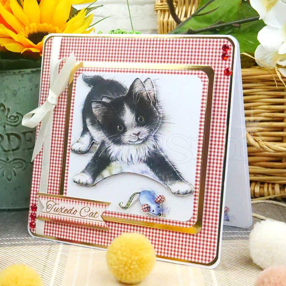 Hunkydory Its a Cats Life A5 Papercraft Pad CAT103
