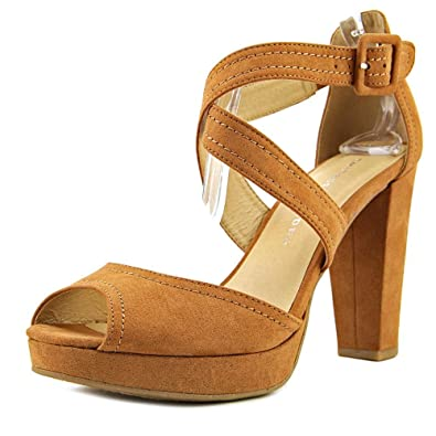 20f9b08776b Image Unavailable. Image not available for. Color  Chinese Laundry Womens  All Access Open Toe Casual Ankle Strap ...