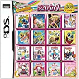 DALUHE 520 in 1 Game Cartridge, DS Game Pack Card Compilations, Super Combo Multicart for DS NDS NDSL NDSi 3DS XL New…
