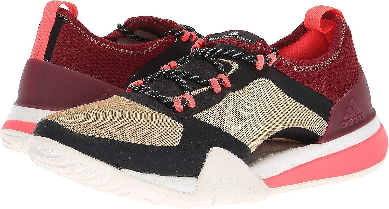 Image of adidas by Stella McCartney Pureboost X TR 3.0 Cardboard/Noble Maroon/Core Black 7 Road Running