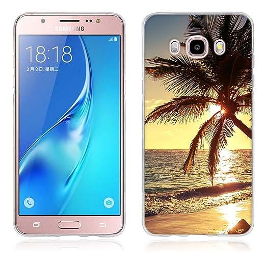5 opinioni per Samsung Galaxy J5 (2016) Cover, Fubaoda Alta qualità Bello e romantico paesaggio