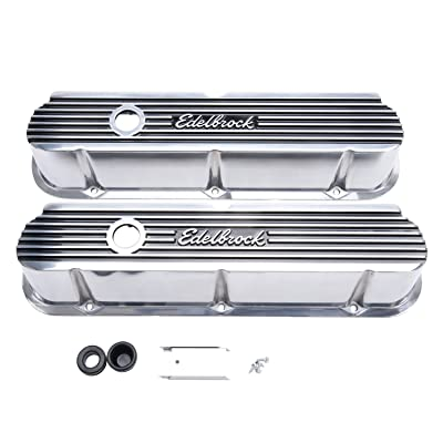 Edelbrock 4264 Valve Cover Kit (Elite II Series SBF Tall): Automotive