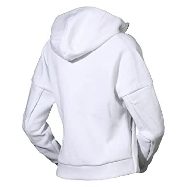 adidas Damen Kapuzenjacke Pro Daybreaker Hoodie, White