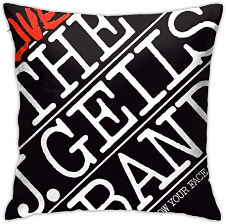 Amazon Com Abigail Pickering J Geils Band Throw Pillow Cover Comfortable And Soft Square Decorative Cushion Cover Sofa Bedroom Cars 18x18 Inches Home Kitchen