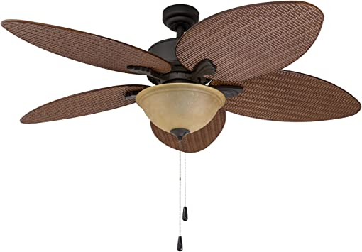 Prominence Home 80014-01 Palm Valley - Ventilador de techo con ...