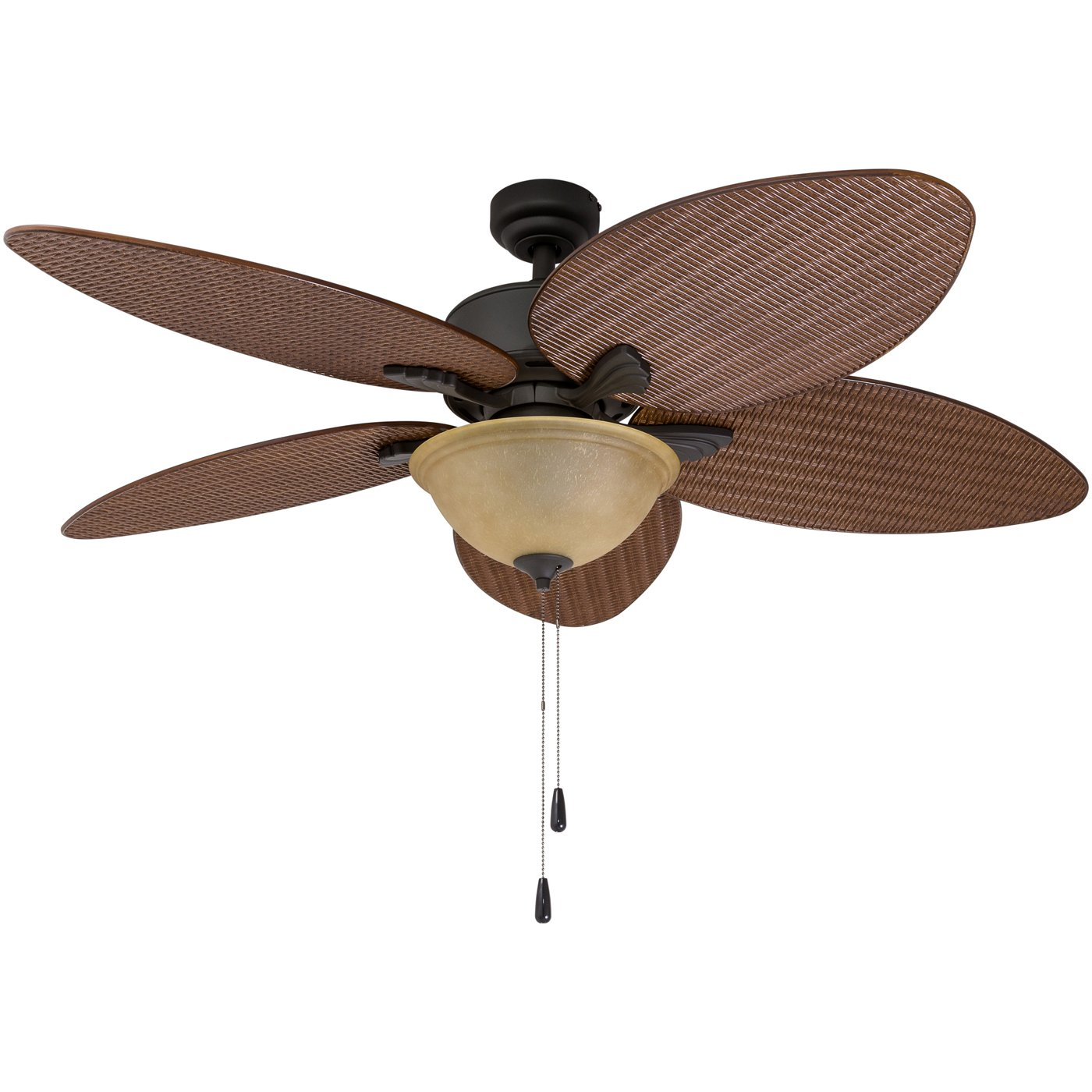 Prominence Home 01 Palm Valley Tropical Ceiling Fan with