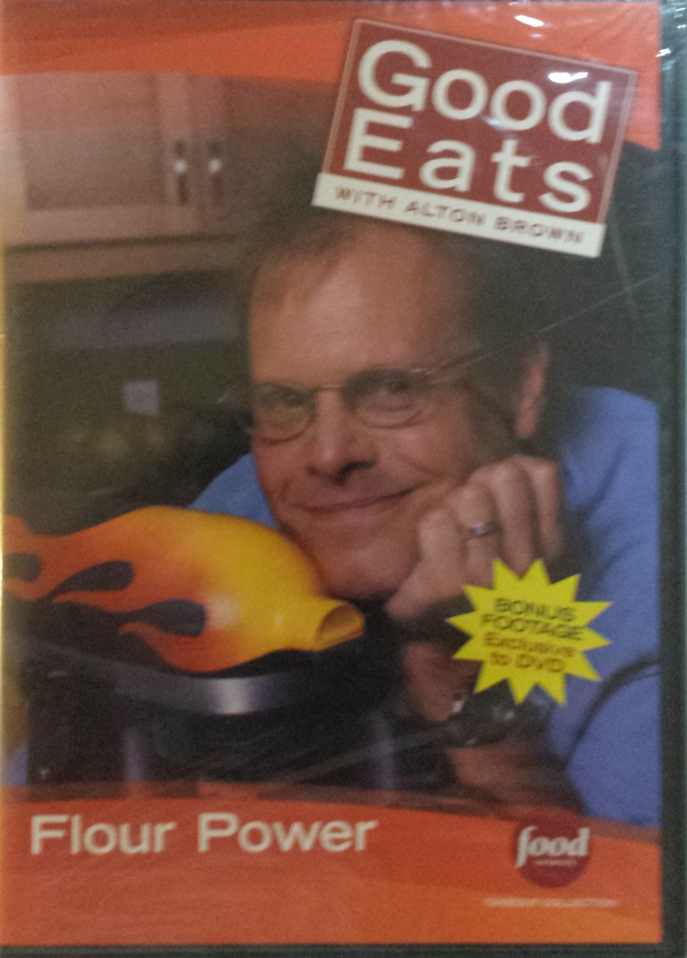 Food Network Takeout Collection DVD - Good Eats With Alton Brown - Flour Power - Includes BONUS FOOTAGE Plus The Dough Also Rises / Puff the Magic Pastry / Choux Shine