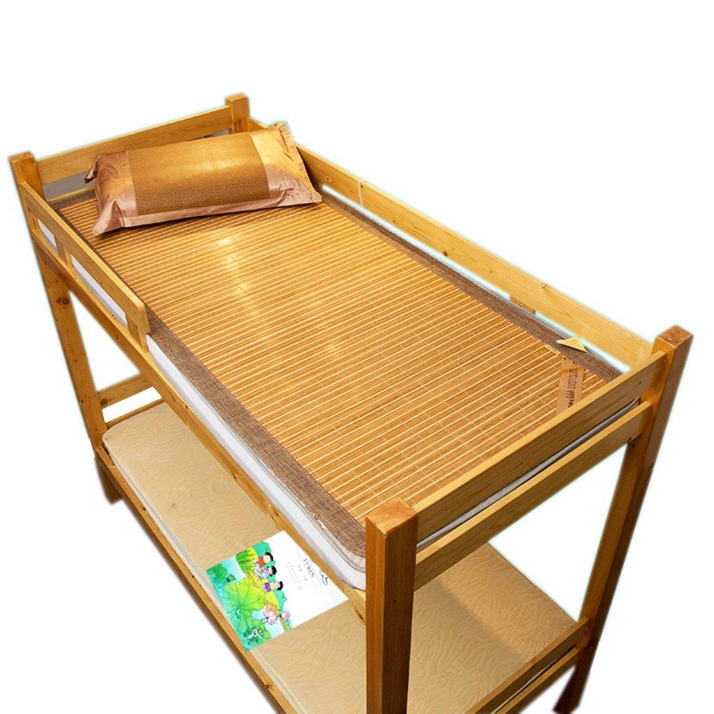 Ren Chang Jia Shi Pin Firm Bamboo mat Bamboo Cushion mat Folding mat Sofa Cushion Summer mat Family Dormitory mat Tatami Hotel mat Soft and Comfortable mat Mattress Yoga mat by Ren Chang Jia Shi Pin Firm
