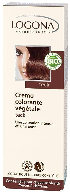 logona herbal hair colour teak 150ml - Logona Color Creme
